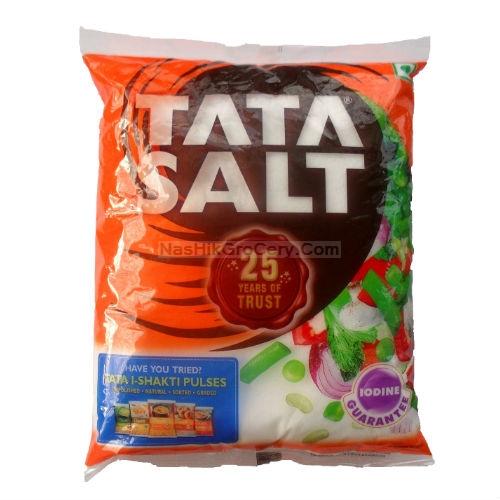 Tata Salt, 1 Kg Packet.