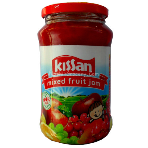 Kissan Mixed Fruit Jam 500g Bottle Online Nashik Kirana